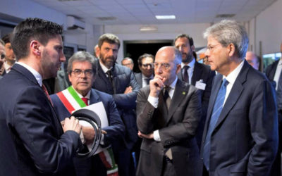 Italy's PM Meets BaxEnergy