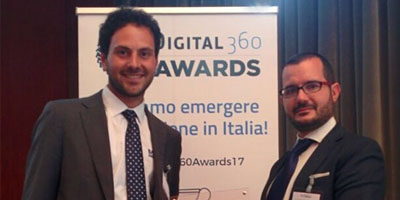 BaxEnergy winner of the Digital360 Awards 2017 competition