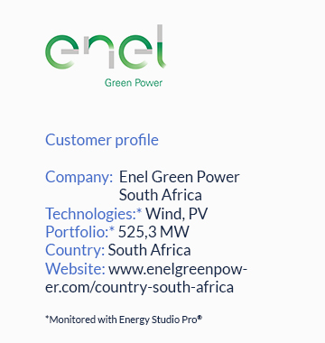 AssetStack® helps Enel Green Power RSA improving asset management