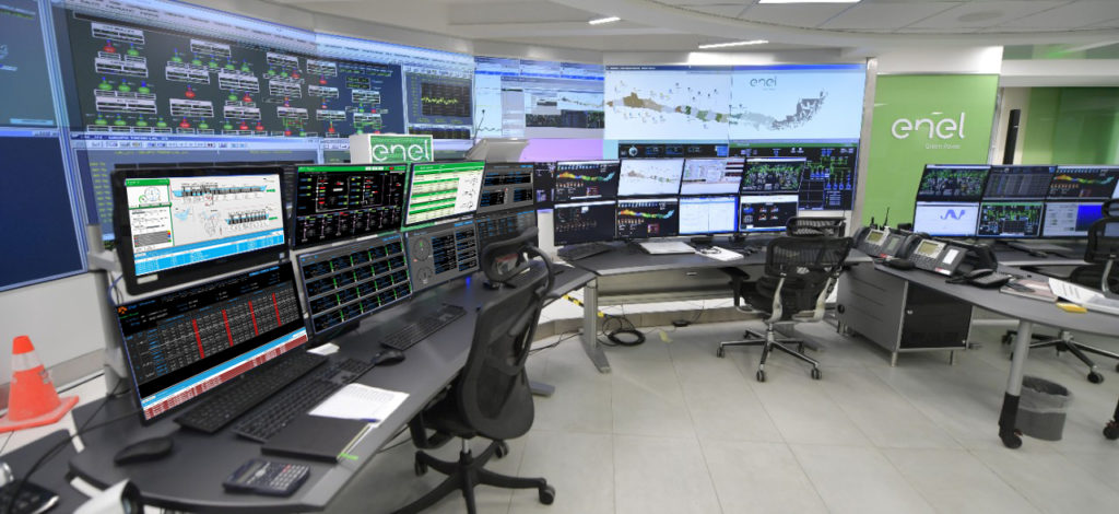 Enel Green Power Chile Control Room